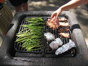 food on the grill 2
